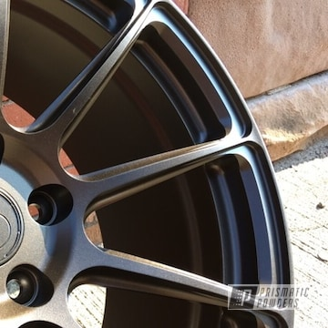 Signature Wheels Powder Coated In Stone Bronze