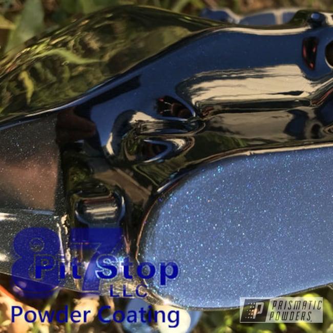 Powder Coating: Custom Brake Caliper,Brembo,Brake Calipers,Misty Midnight PMB-4239