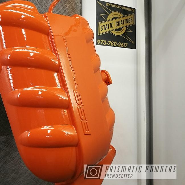 Powder Coating: Automotive,manifold,International Orange PSS-2779