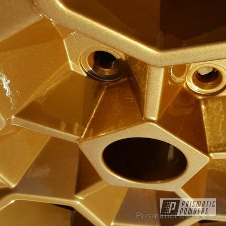 Powder Coating: Wheels,Automotive,Clear Vision PPS-2974,Vegas Nutmeg PMB-4303,Custom Powder Coated Wheels,Smokey & The Bandit