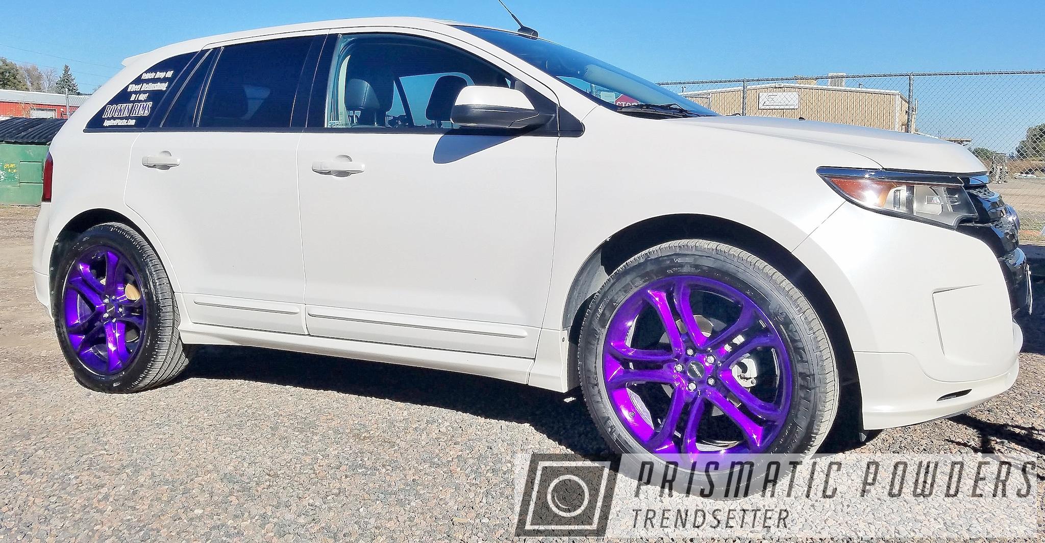 "Powder Coating: Illusion Purple PSB-4629,Wheels,Automotive,rockin rims,Clear Vision PPS-2974,Rims,Applied Plastic Coatings,22"" Aluminum Rims,Purple wheels"