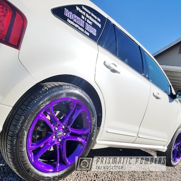 Purple Powder Coated Rockin Rims