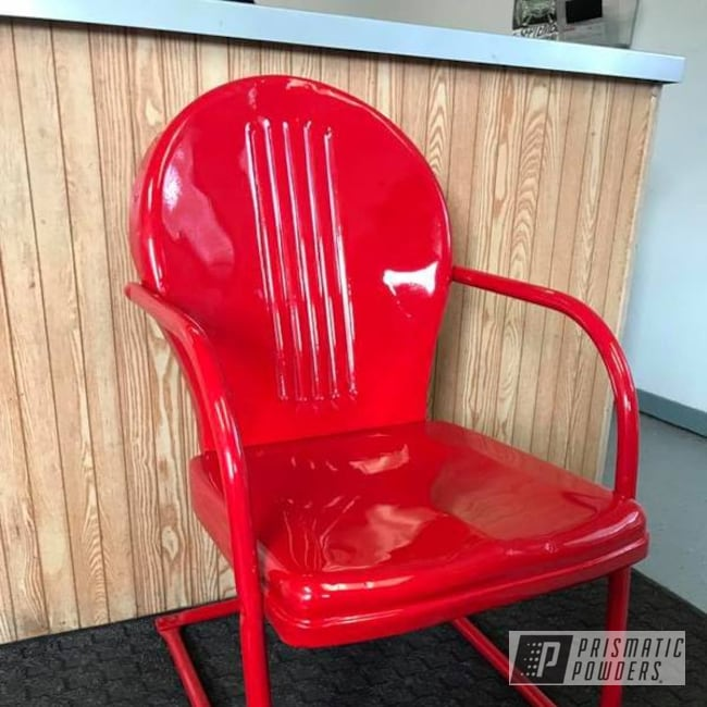 Powder Coating: chair,Astatic Red PSS-1738,Furniture