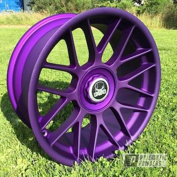 Illusion Purple With Casper Clear Top Coat