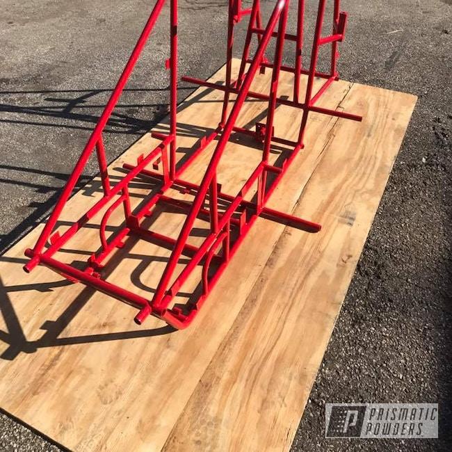 Powder Coating: Custom Frame,Astatic Red PSS-1738