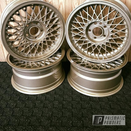 Powder Coating: Wheels,Automotive,Clear Vision PPS-2974,ROMAN GOLD UMB-1638