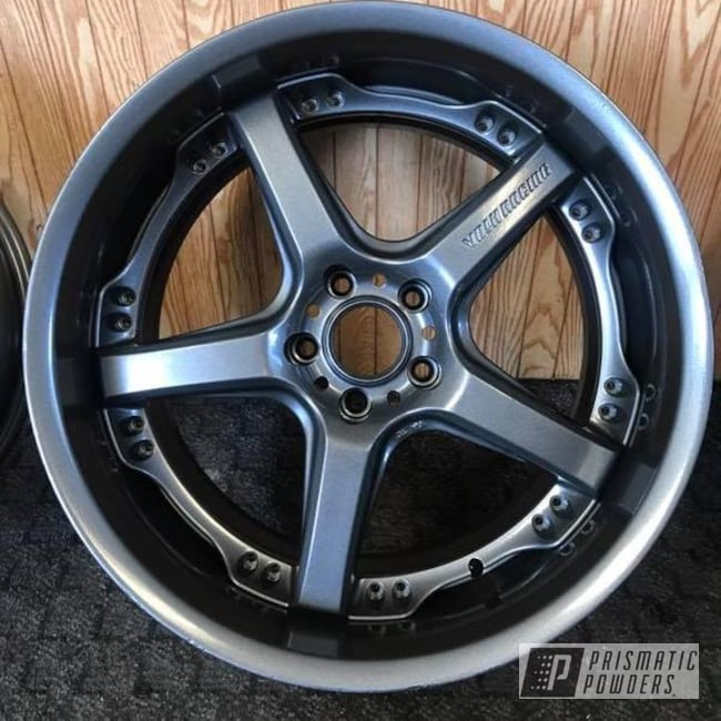 Powder Coating: Wheels,Automotive,Kingsport Grey PMB-5027