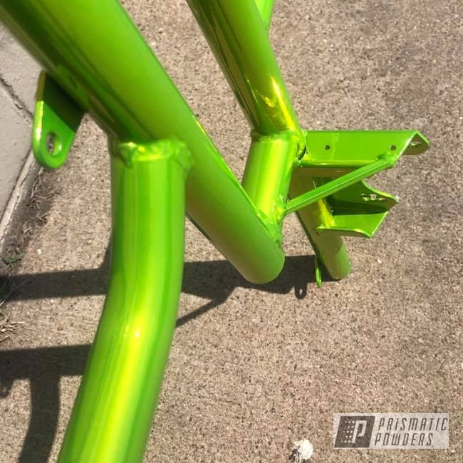 Powder Coating: Custom Frame,Shocker Yellow PPS-4765