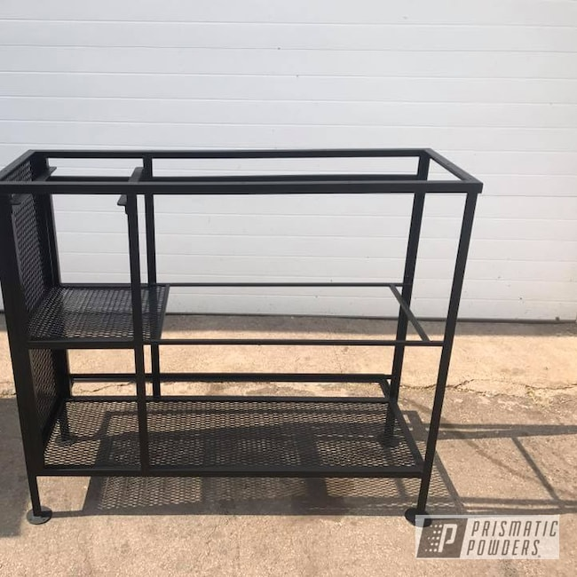 Powder Coating: Custom Furniture,BLACK JACK USS-1522,Furniture