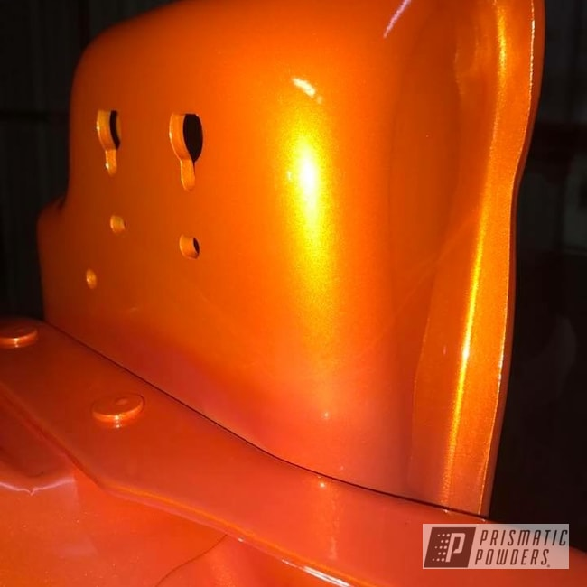 Powder Coating: Automotive,Clear Vision PPS-2974,Custom Auto Parts,Ford,Excursion,Illusion Orange PMS-4620