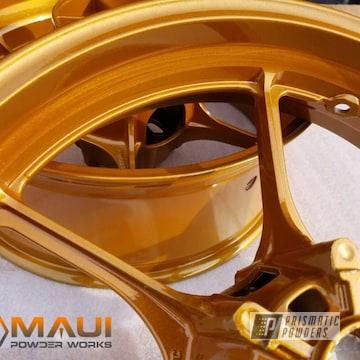 Powder Coated Suzuki Gsxr Wheels