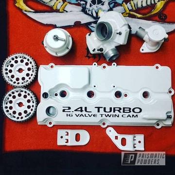 Powder Coated Engine Parts