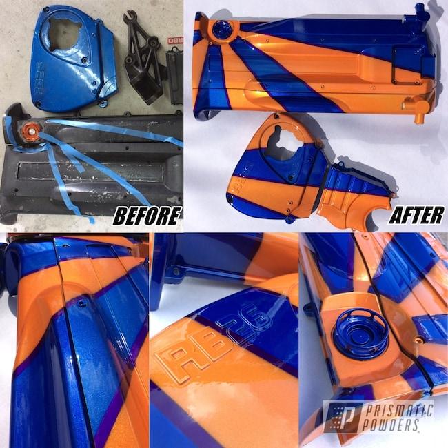 Powder Coating: Illusion Purple PSB-4629,Auto Parts,Japan,Clear Vision PPS-2974,Rising Sun,Custom Auto Parts,Flag,RB26,Illusion Blueberry PMB-6908,Illusion Orange PMS-4620