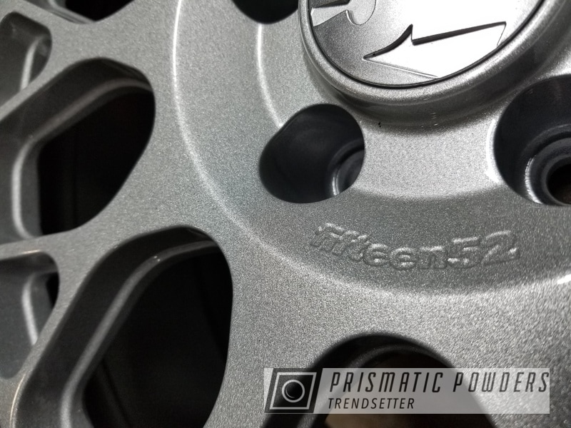 Powder Coating: Wheels,Automotive,SILVER METALLIC II PMB-0513,1552