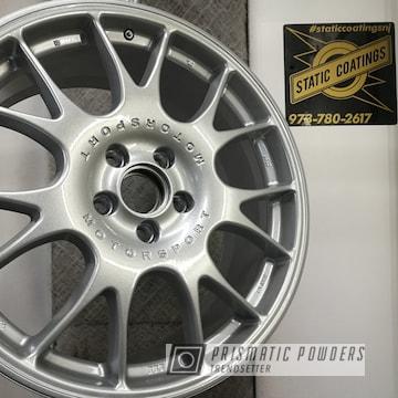 Powder Coated Silver Bbs Wheels