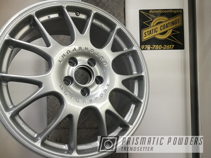Powder Coated Silver Bbs Wheels