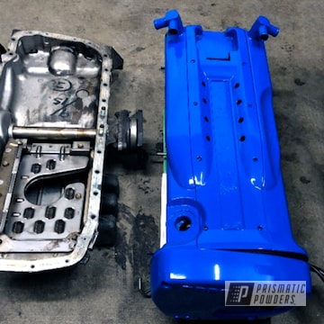 Powder Coated Nissan Skyline Rb26 Valve Cover