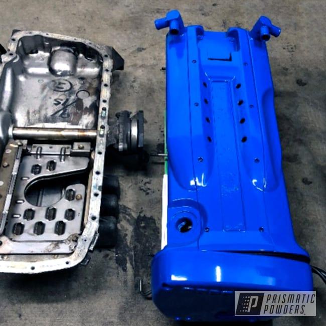 Powder Coated Nissan Skyline Rb26 Valve Cover