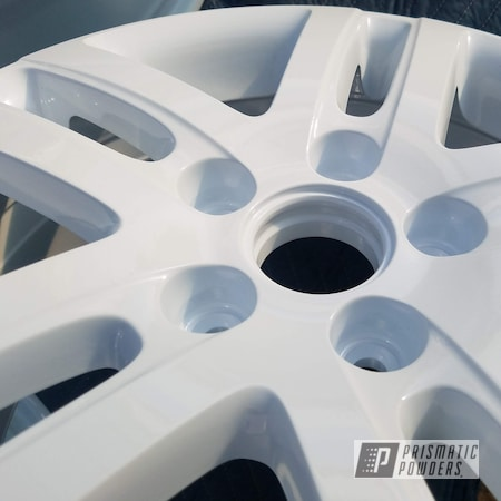 Powder Coating: Wheels,Automotive,rockin rims,Clear Vision PPS-2974,CRATER FROST UMB-1580,Applied Plastic Coatings,White Wheels,Powder Coating Wheels