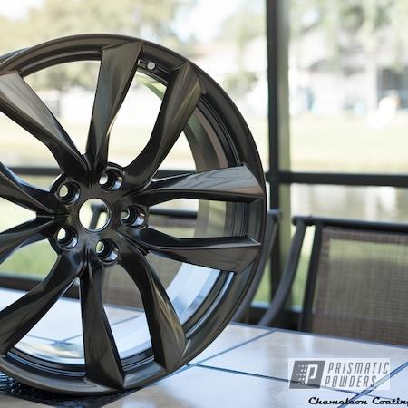 Powder Coating: Wheels,Black Chrome II PPB-4623,Automotive,SUPER CHROME USS-4482,21Wheel,Tesla Wheel,Models