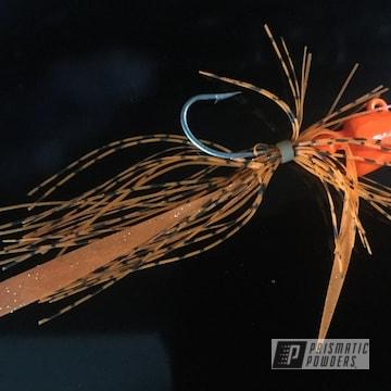 Custom Powder Coated Fishing Lure