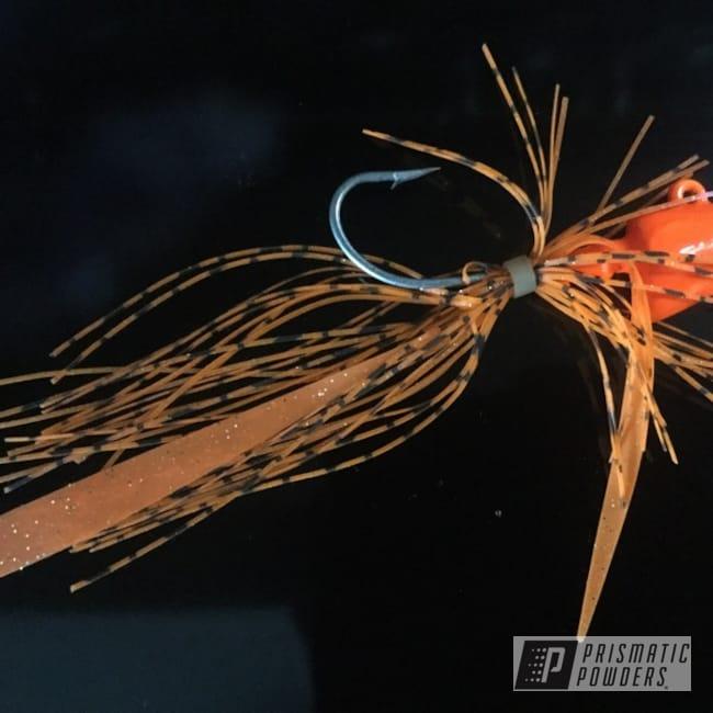 Powder Coating: Fishing Lure,Polar White PSS-5053,Striker Orange PPS-4750,Miscellaneous