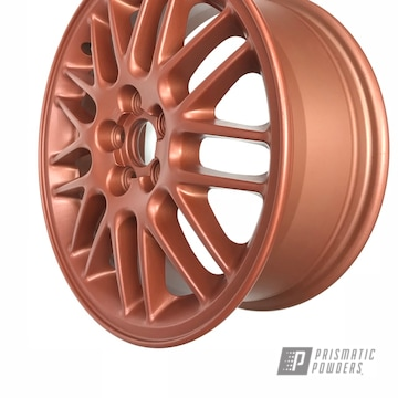 Copper Powder Coated 22 Inch Aluminum Rims