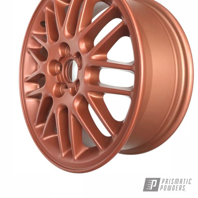 "Powder Coating: Illusion True Copper PMB-10044,Wheels,Automotive,Clear Vision PPS-2974,22"" Aluminum Rims"