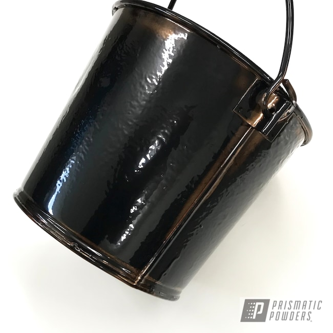 Powder Coating: Antique,Buckets,SOFT RUBBED BRONZE UMB-1326,Household