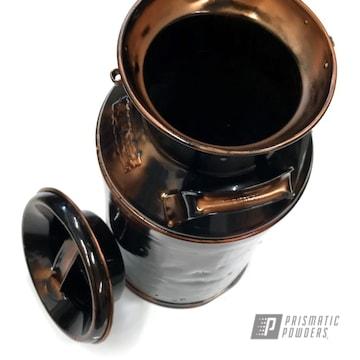 Bronze Powder Coated Antique Buckets