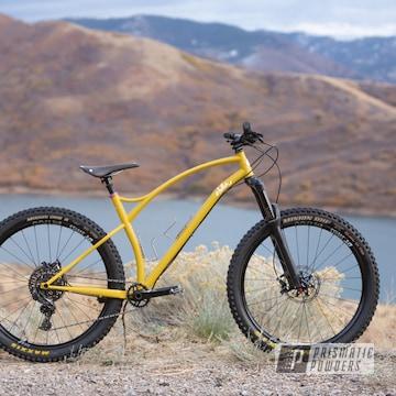Powder Coated Sklar Hardtail Bicycle Frame