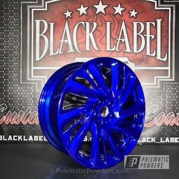 Lollypop Blue Over Super Chrome Base Coat