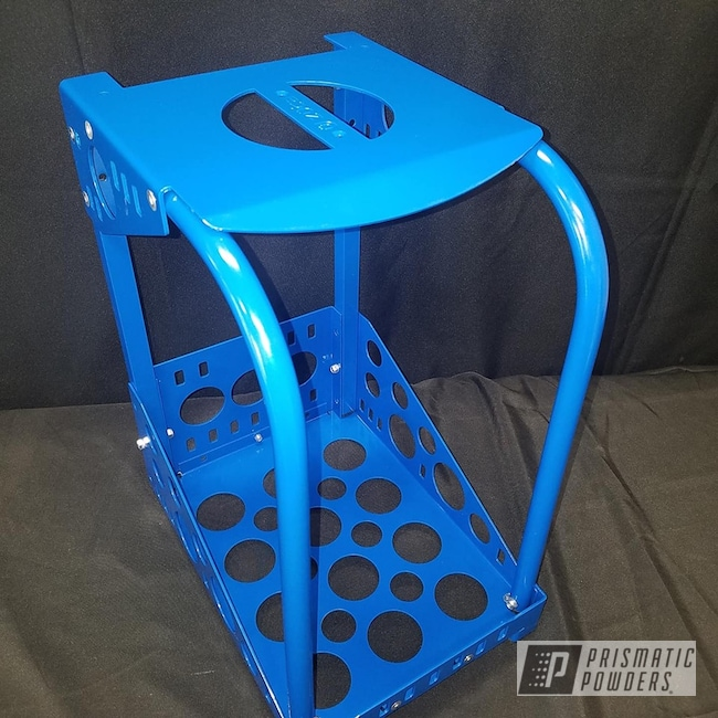 Powder Coating: Brazilian Blue PMB-0770,Tool,Cart,Miscellaneous
