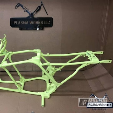 Powder Coated Yamaha Banshee Atv Frame