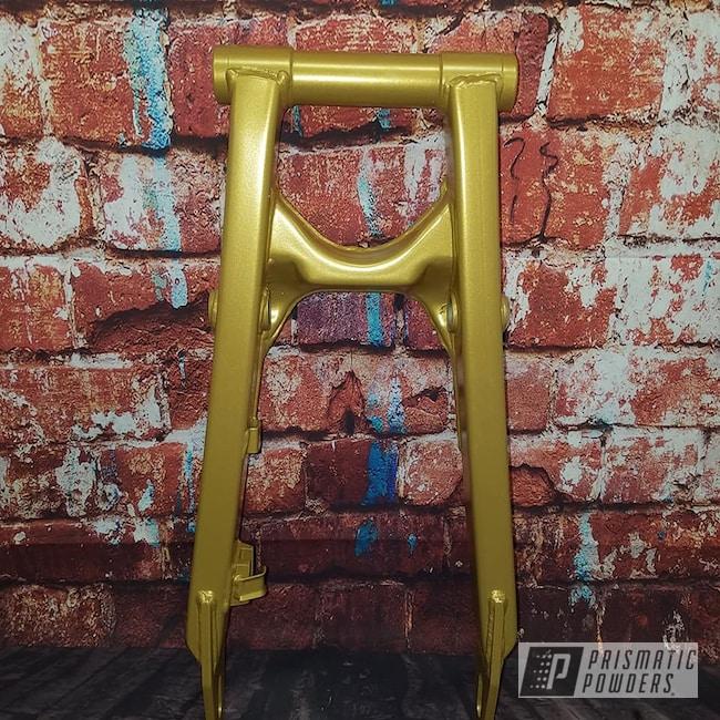 Powder Coating: Goldtastic PMB-6625,ATV,Swing Arm,Quad Parts