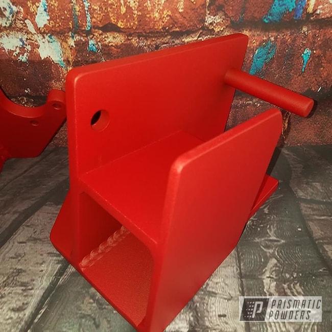 Powder Coating: Textured Finish,Textured Powder Coating,Burnt Red Texture PTS-6422,Textured,Weight Equipment,brackets