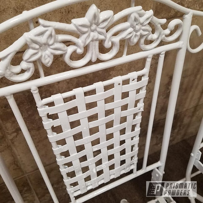 Powder Coating: Custom Furniture,Chairs,Patio Furniture,Decorative Furniture,Gloss White PSS-5690,Tables