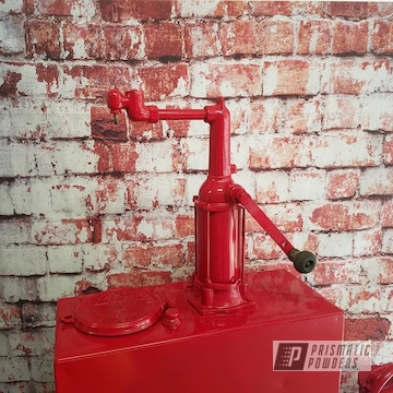Powder Coated Vintage Oil Can