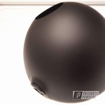 Powder Coated Black Motorcycle Light