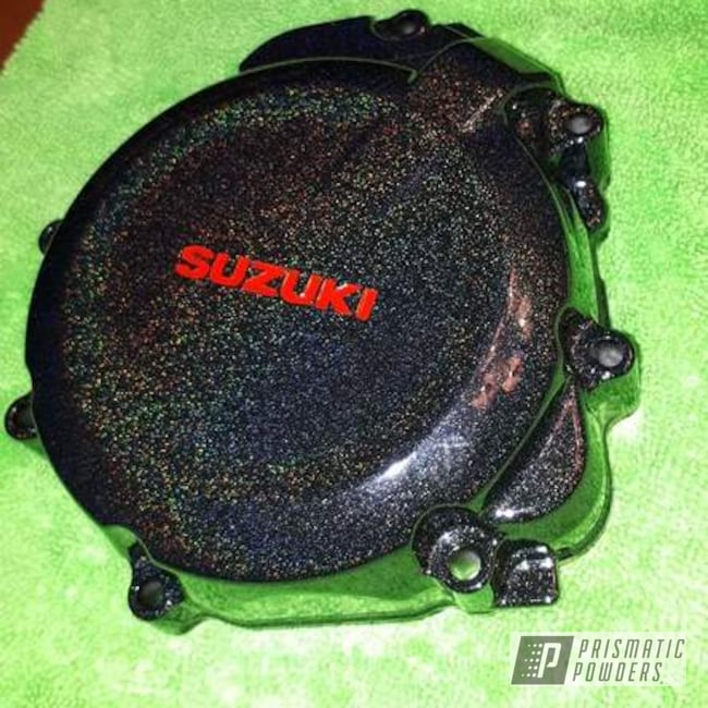 Powder Coated Suzuki Gsx-s 1000 Motorcycle Parts Engine Cover