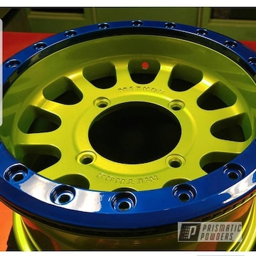 Custom Powder Coated Polaris Rzr 1000 Wheels