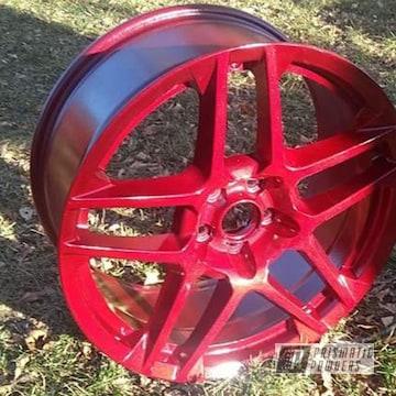 Powder Coated Ford Shelby Gt500 Cobra Wheels
