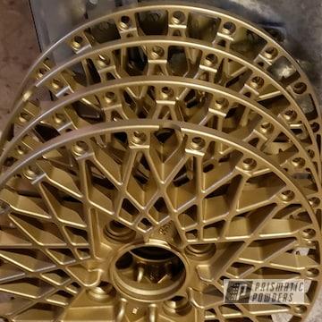 Powder Coated 3 Piece Ssr Formula Mesh Wheels