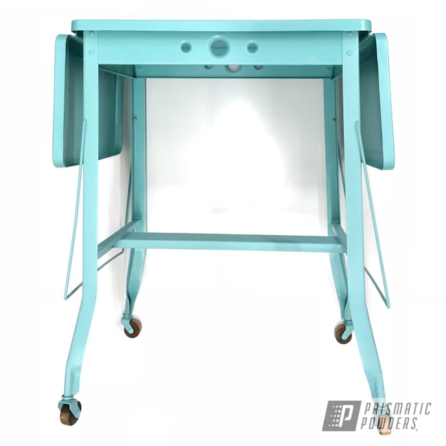 Powder Coating: House Decor,Decor,Antiques,Home Furnishings,Pearled Turquoise PMB-8168,Furniture,Desk