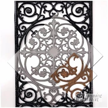 Powder Coated Antique Wall Art
