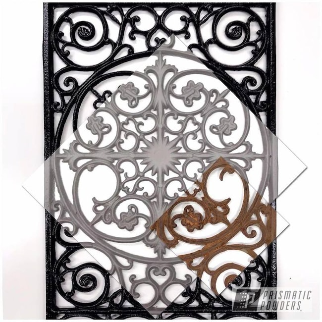 Powder Coating: Decor,Antiques,Home Decor,Art,Decorative Furniture,Outdoor,Black River II PRS-6118