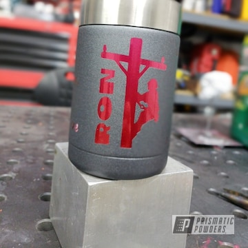 Custom Powder Coated Yeti Can Koozie