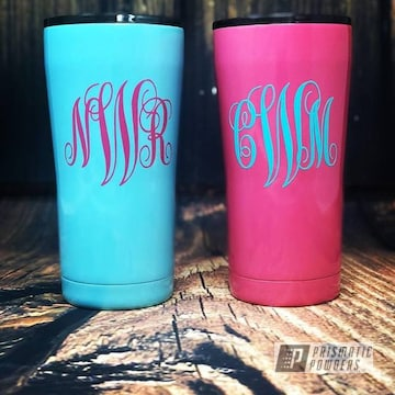Powder Coated Yeti Cups
