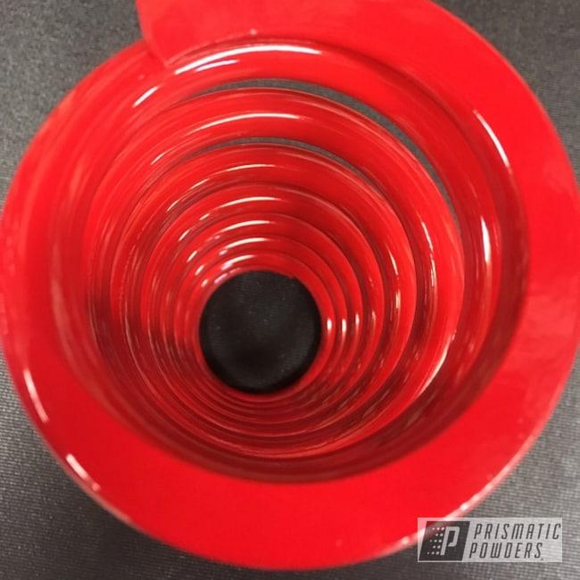 Powder Coating: Moto,Motorcycles,Astatic Red PSS-1738,shock spring