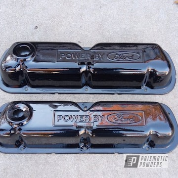 Powder Coated Ford Valve Covers
